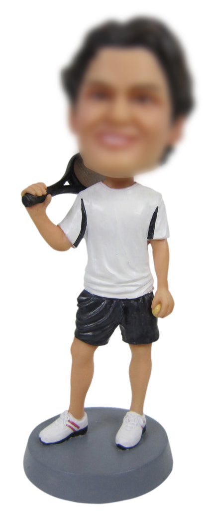 Tennis Player Bobble Head - BHS218