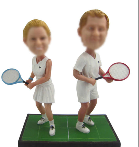 Tennis Player Bobble Head - BHS220