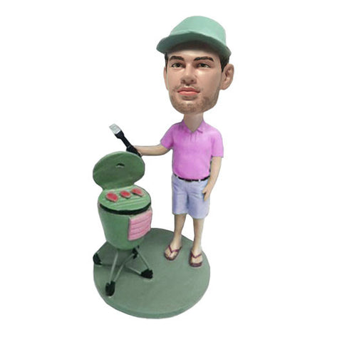 Barbecue Cook Bobble Head -BHS76