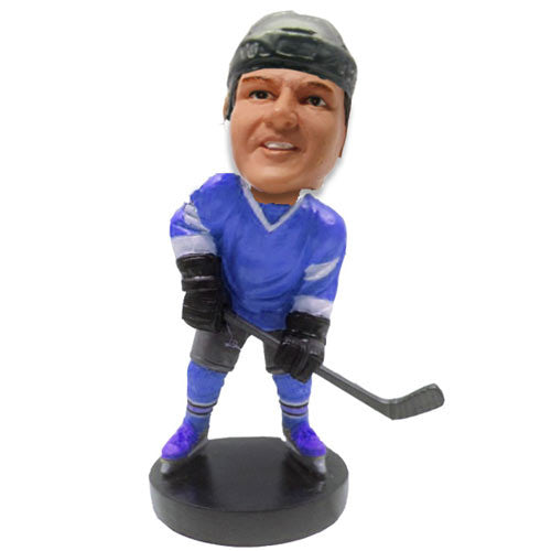 Hockey Player Bobble Head - BHS03