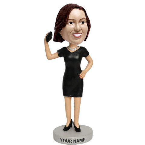 Business Career Woman Bobblehead