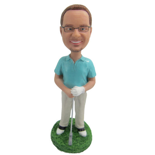 Golfer Bobble Head - BHS112