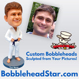 Karate Bobble Head - BHS119