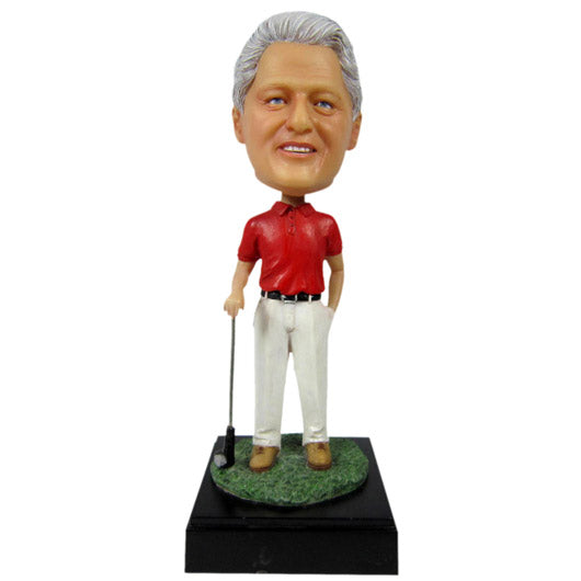 Golfer Bobble Head - BHS123