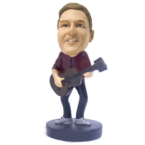Guitar Player Bobblehead - BHS29