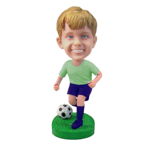 Soccer Player Bobble Head-BHS40