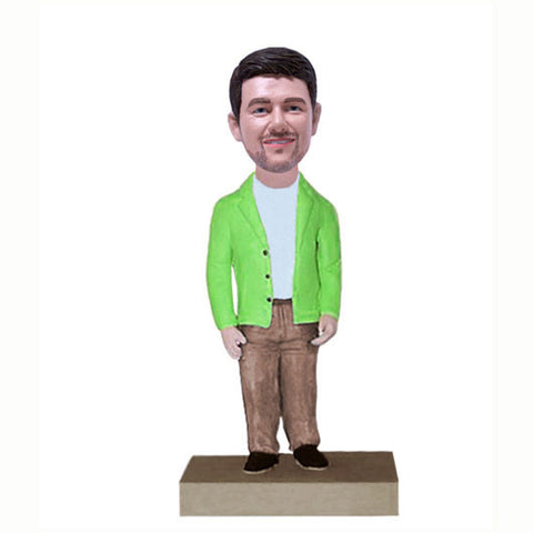 Casual Dress Bobble Head-BHS53