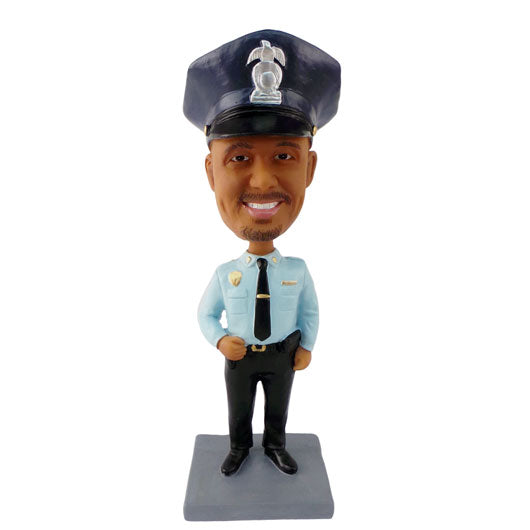 Policeman Bobble Head-BHS84
