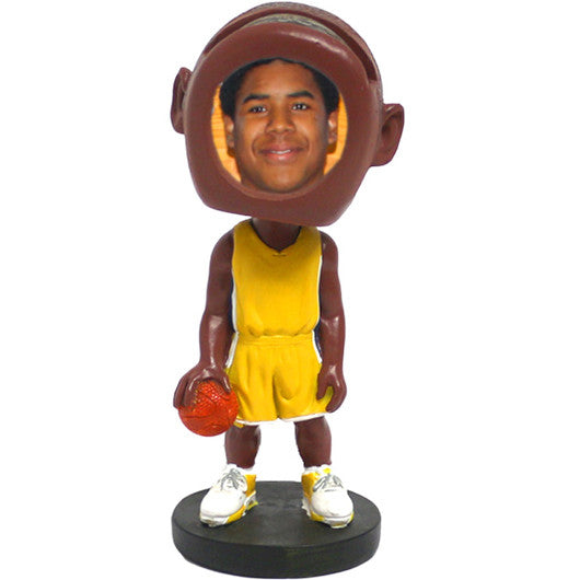 Basketball Player Picture Frame Bobblehead