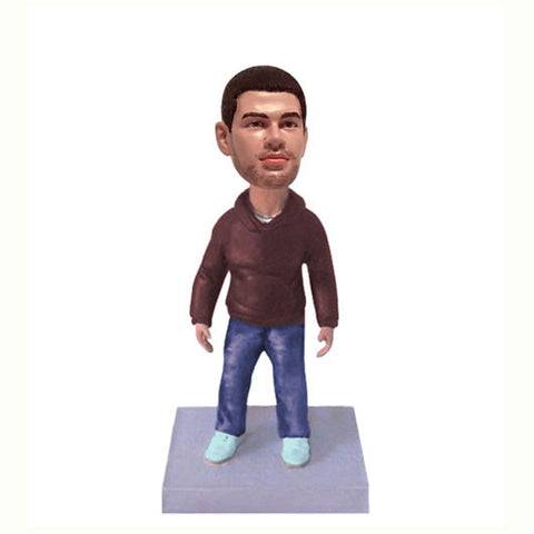 Casual Dress Bobble Head-BHS54
