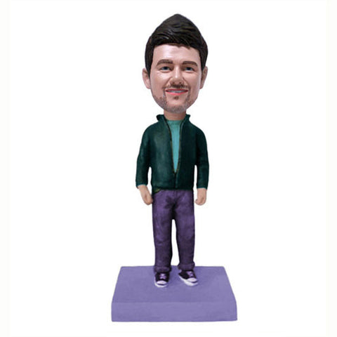 Casual Dress Bobble Head-BHS55