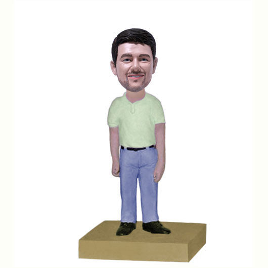 Casual Dress Bobble Head-BHS56