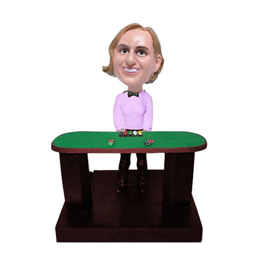 Casino Dealer Bobble Head-BHS51