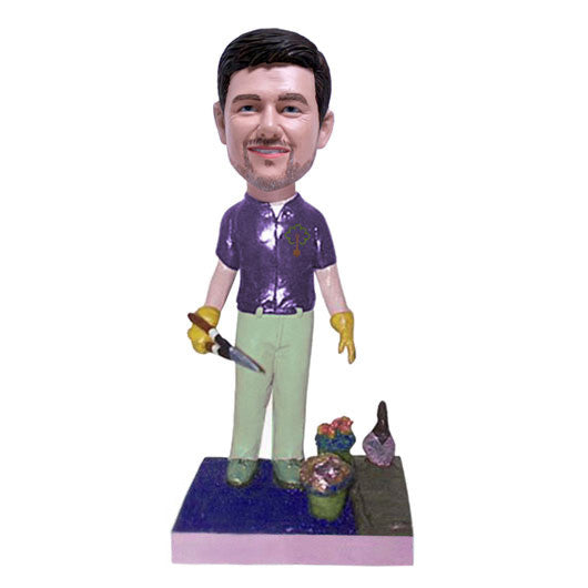 Gardener Bobble Head-BHS60
