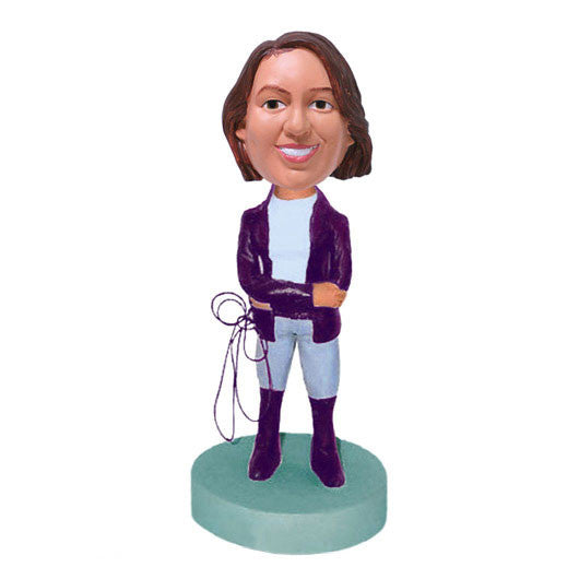 Horse Trainer Bobble Head-BHS87