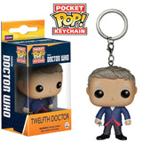 FUNKO POP Pocket Doctor Who Keychains