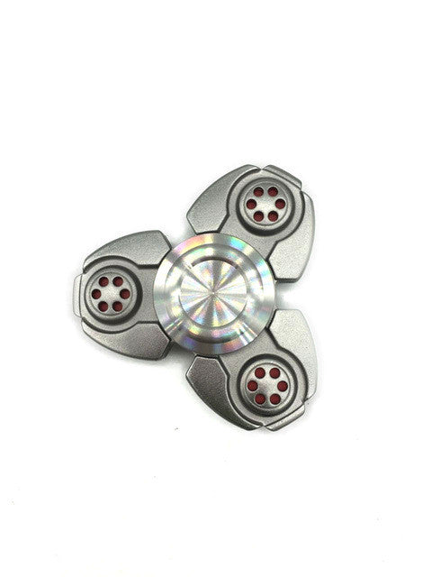 Tri-Spinner Fidget Hand Spinner Toy with Ceramic Bearings