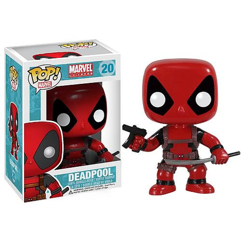 FUNKO POP Marvel Deadpool #20 Bobblehead Action Figure