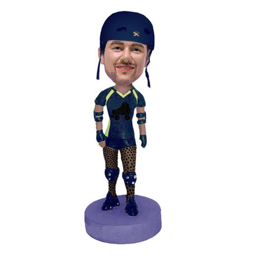Roller Skater Bobble Head - BHS93