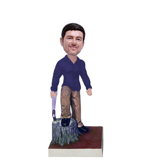 Tree Trimmer Bobble Head-BHS65