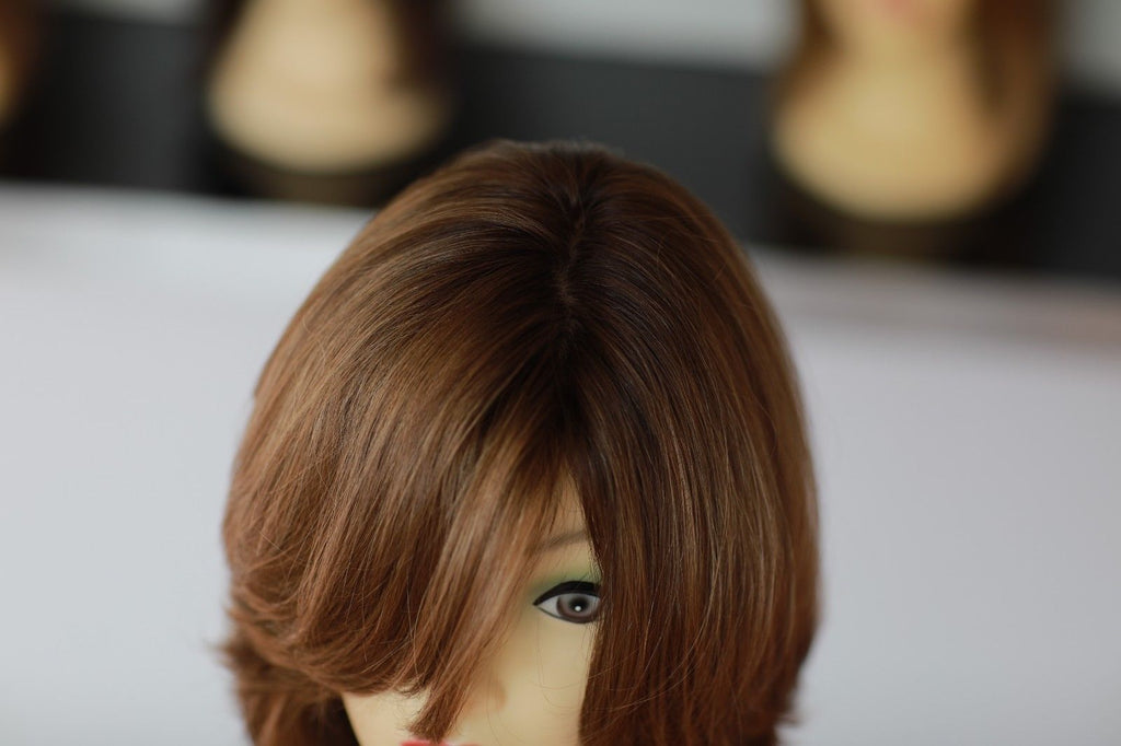 "VIRGIN EUROPEAN HUMAN HAIR 12"" LONG - Wigs"