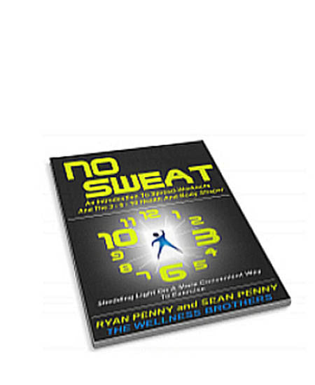 BOOK - NO SWEAT