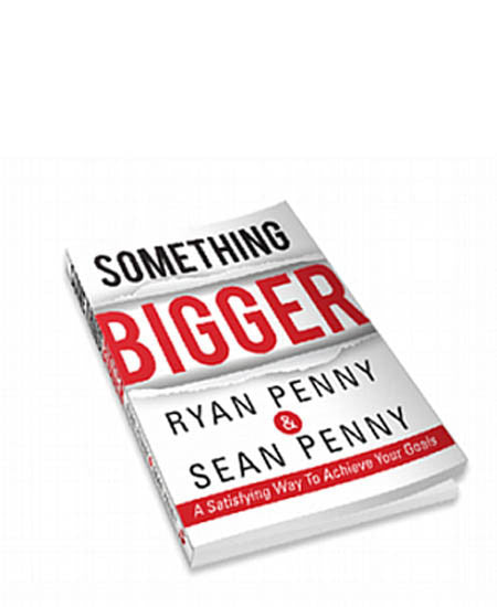 BOOK - SOMETHING BIGGER