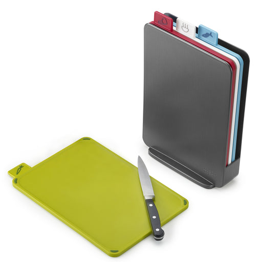 Index Compact Cutting Board Set, Graphite