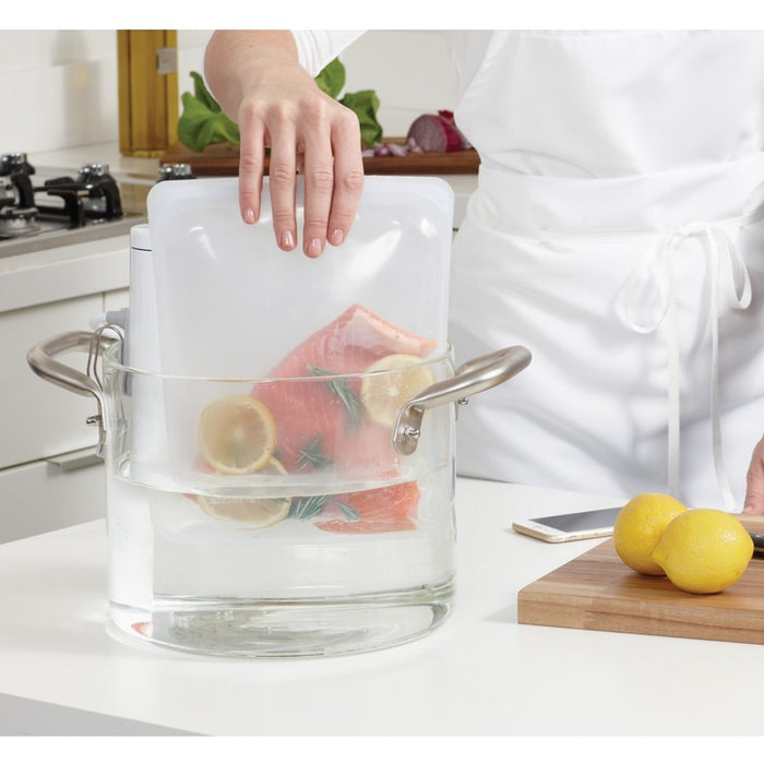 Stasher Reusable Half-Gallon Bag, Clear
