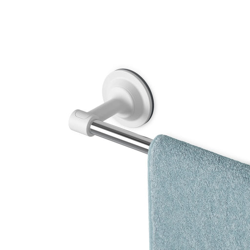 Flex Sure-Lock Towel Bar, White SS