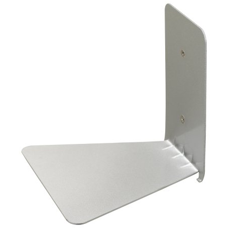 Conceal Book Shelf, Small, Silver - Neat Space