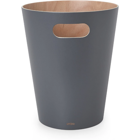 Woodrow Can, Charcoal Grey