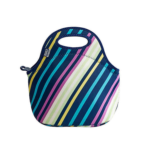 Built NY Gourmet Getaway Lunch Tote Bag, Montauk Stripe - Neat Space