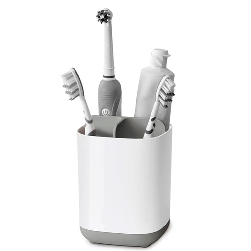 EasyStore Toothbrush Caddy - Small, Grey