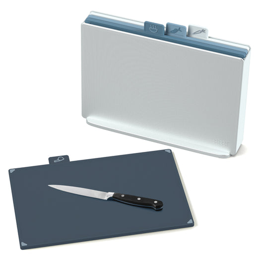 Index Chopping Boards Set - Large, Sky
