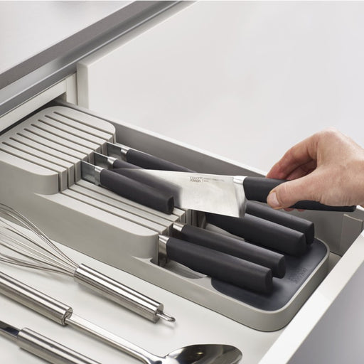 DrawerStore 2-Tier Compact Knife Organizer