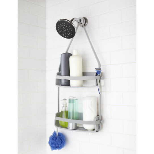 Flex Shower Caddy, Grey