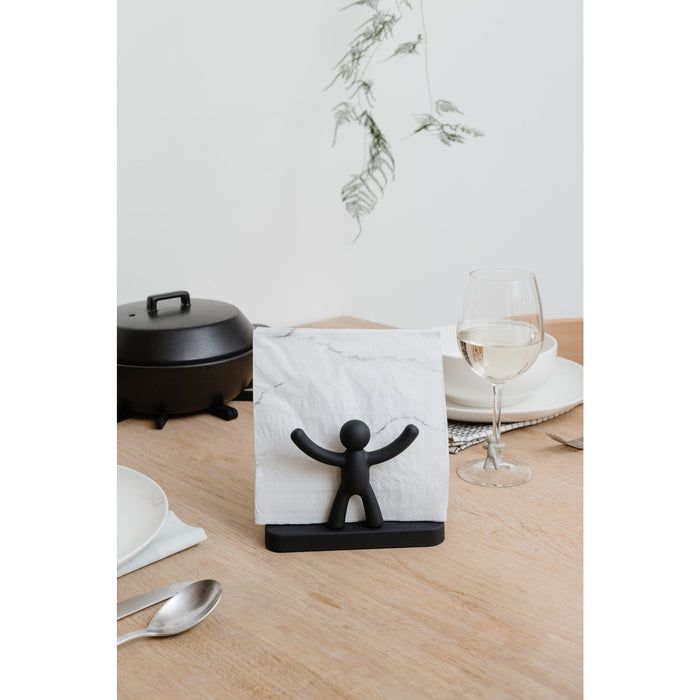 Buddy Napkin Holder, Black
