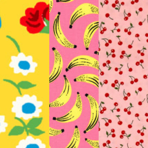 Abeille Wraps- Reusable Beeswax Wraps (Set of 4) Going Bananas