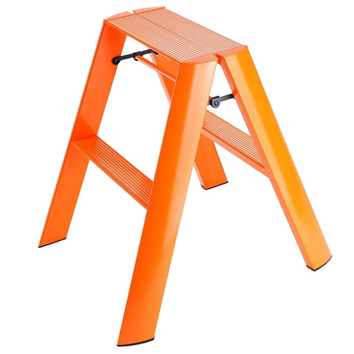 Lucano 2-Step Ladder, Orange