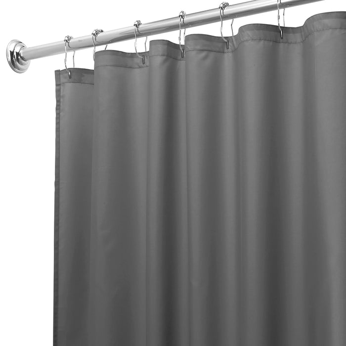 Fabric Shower Curtain - Charcoal