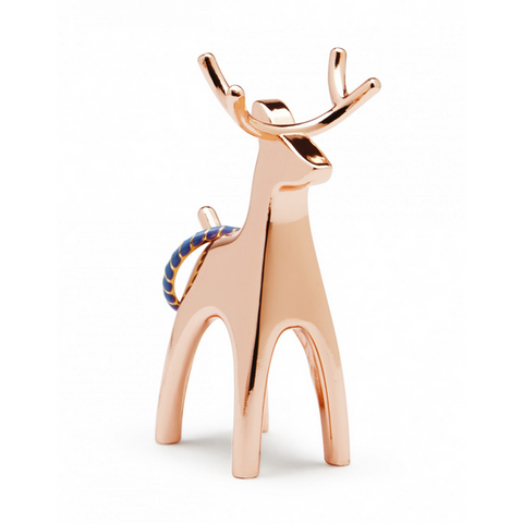 Anigram Ring Holder  Reindeer - Copper