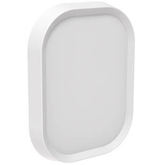 Perch Mini Wally Wall Plate, White