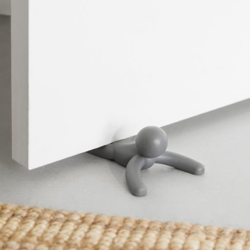 Buddy Doorstop 2/Pk, Charcoal