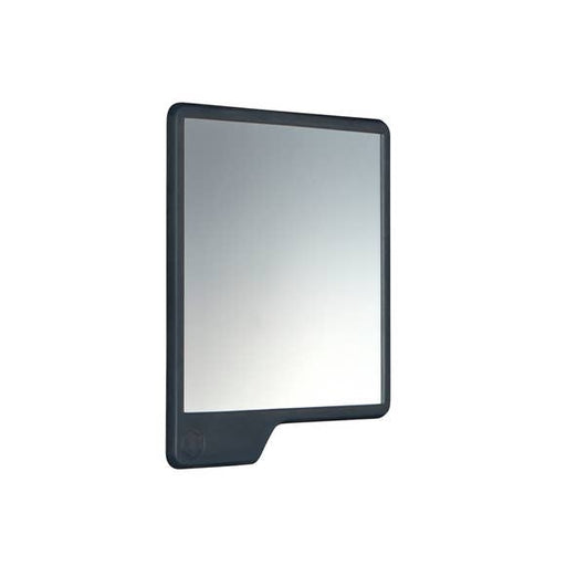 The Oliver Shower Mirror, Charcoal