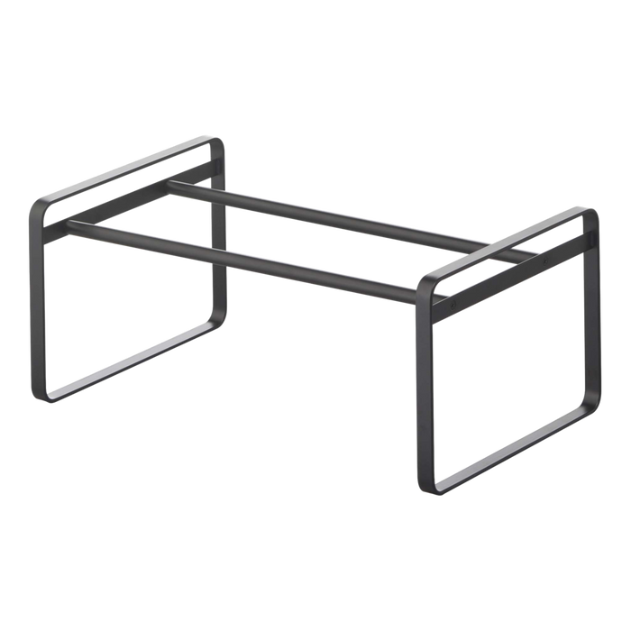 Frame Adjustable Shoe Rack, Black