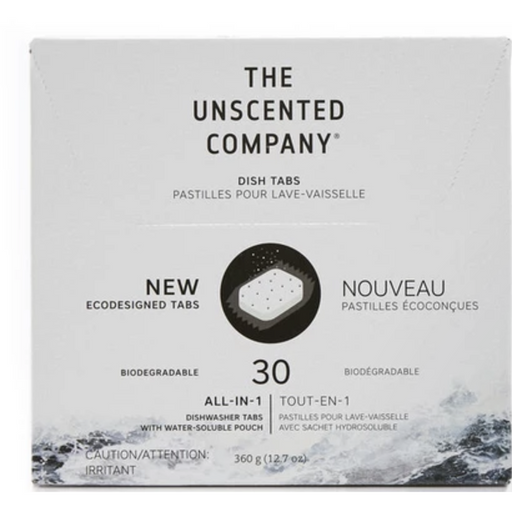 Unscented All-in-1 DishWasher Tabs, 30/Pk
