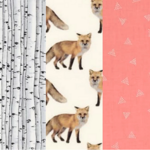 Abeille Wraps- Reusable Beeswax Wraps (Set of 4) Foxy Bees