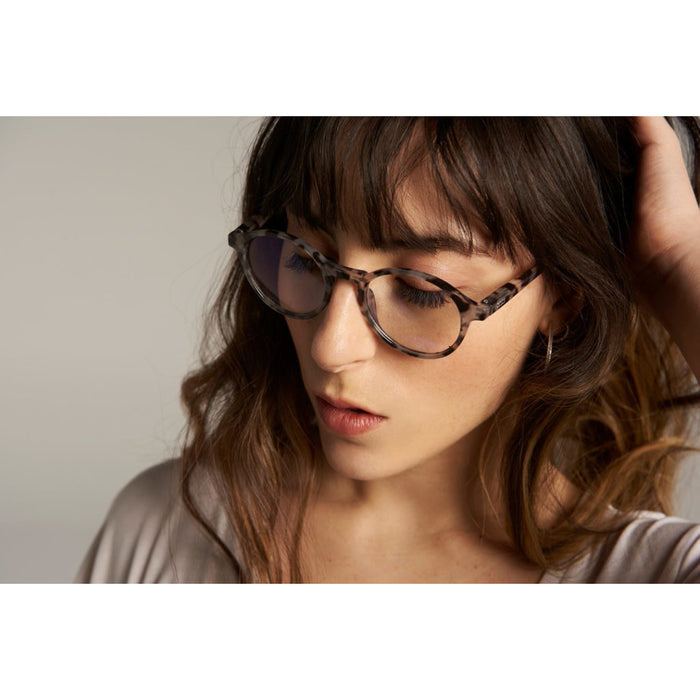 Volga Blue-Light Blocking Glasses, Black +0.00