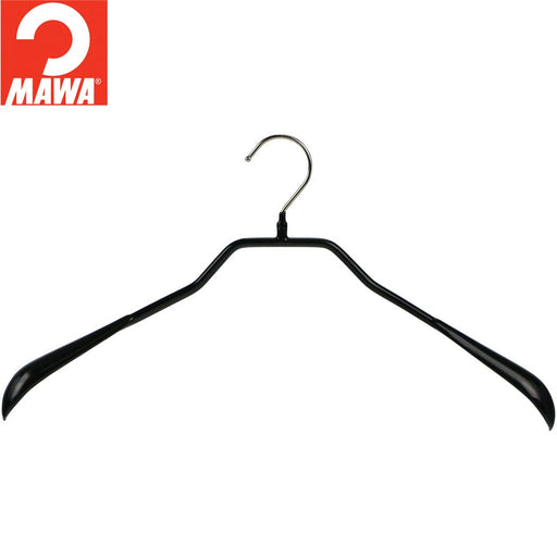 MAWA BodyForm 42-L Coat Hanger, Black
